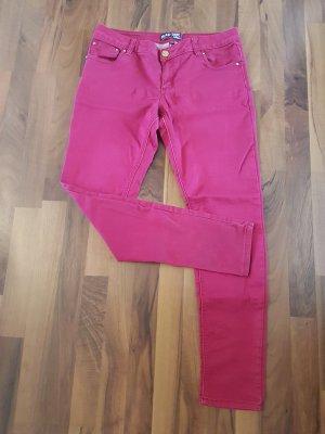 Blind Date Skinny Jeans rot Grösse 40