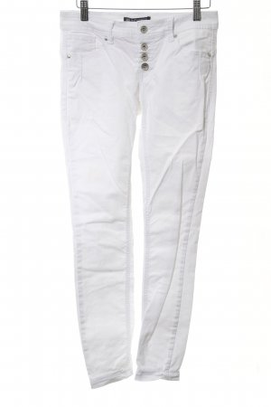 Blind Date Skinny Jeans weiß Casual-Look