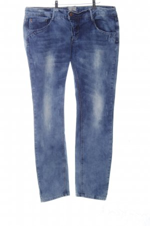 Blind Date Slim Jeans blau Casual-Look