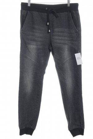 Blind Date Stretch Jeans grau-schwarz Casual-Look
