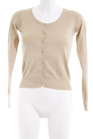 Blind Date Strickjacke sandbraun Casual-Look