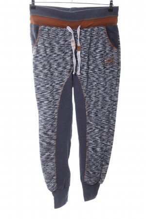 Blind Date Sweat Pants flecked casual look