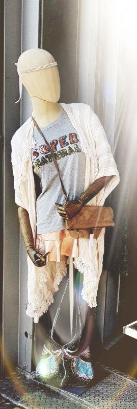 blingberlin Velourledertasche Tasche 'Ava'metallic boho ibiza coachella Festival boho hippie