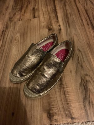 Blink Sneakers gold-colored