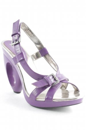 Blink High Heel Sandal lilac-silver-colored extravagant style