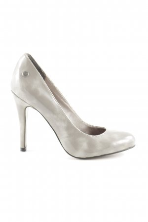 Blink High Heels silberfarben-hellgrau Business-Look