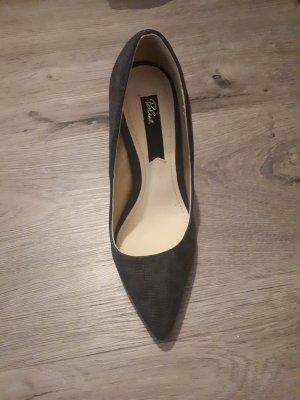 Blink High Heels dark grey imitation leather