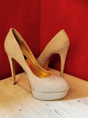 Blink High Heels in gold/ grau metallic, Größe 38, NEU!