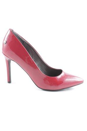 Blink High Heels rot-schwarz Elegant
