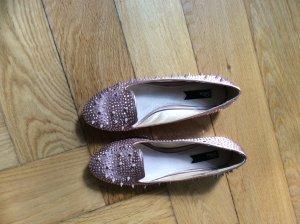 Blink Loafer mit Nieten in rosé Größe 39 wie neu