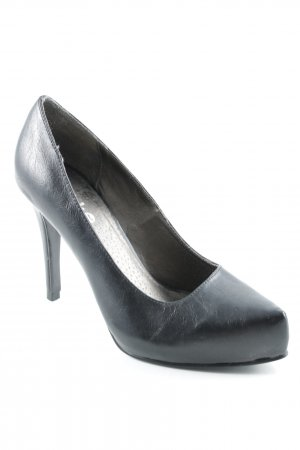 Blink Peeptoe Pumps schwarz Casual-Look