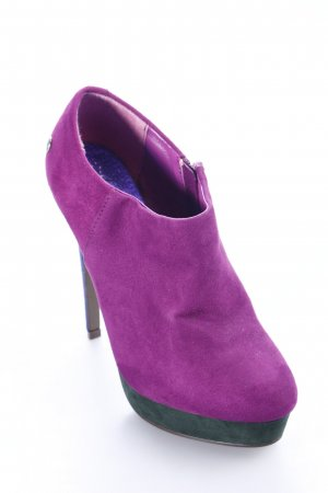 Blink Plateau-Stiefeletten violett-helllila Party-Look