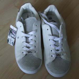 BLINK Sneakers Metallic - Gr. 40  - NEU