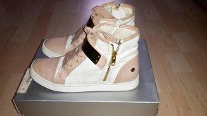 Blink Sneakers weiss-braun-gold