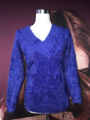 Blitzblauer Pullover von Morgan