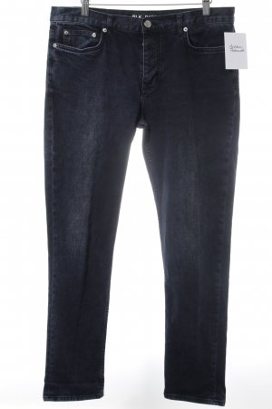 Blk dnm 7/8-jeans donkerblauw casual uitstraling