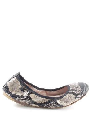 Bloch Foldable Ballet Flats black-cream allover print casual look