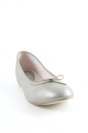 Bloch faltbare Ballerinas taupe Glanz-Optik