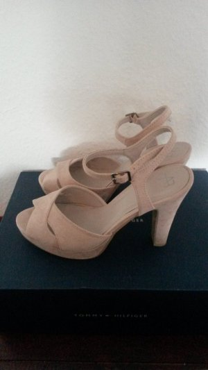 Blockabsatz Pumps rosa