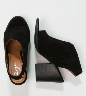 Blockabsatz-Sandalette Leder von Zign