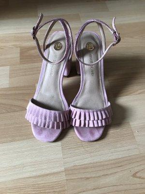 Blockabsatz Schuhe mit riemchen