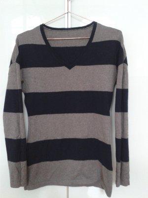Oui Long Sweater multicolored cotton