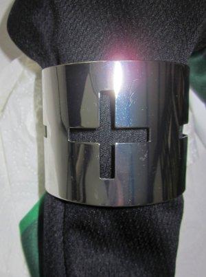 Bangle silver-colored-light grey metal