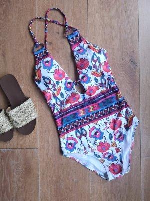 Blogger Badeanzug floral
