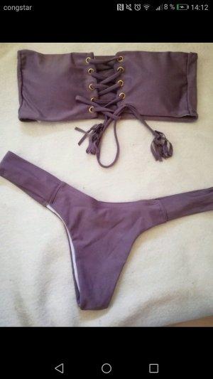Blogger Bandeau Bikini shein