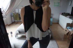 Blogger Basic Zara Bluse Gr S