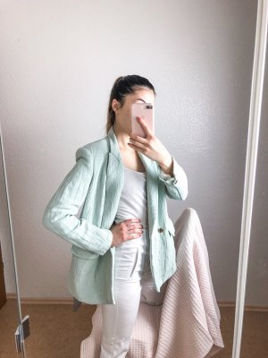 Blogger Blazer in türkis