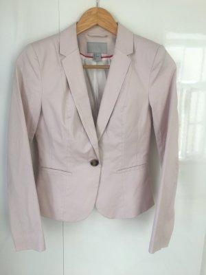 H&M Blazer court rosé-rose clair