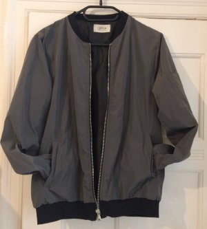 Blogger blouson in grey/black