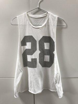 Blogger Brandy Melville T-Shirt Top 28 Cut-Out Festival Look - nur einmal getragen!