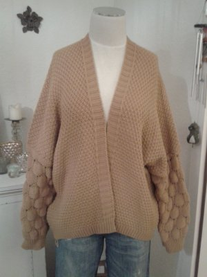 Knitted Cardigan sand brown