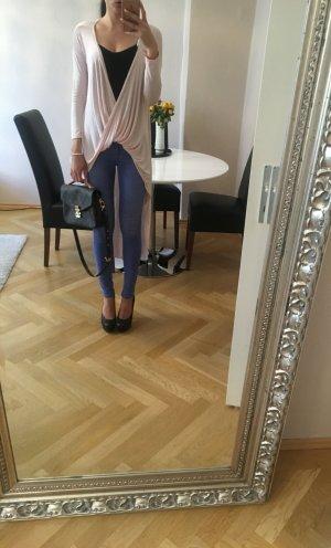 Camisa larga rosa claro-rosa
