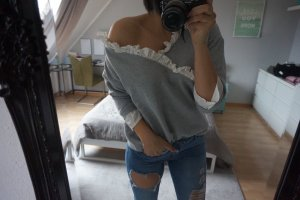 Blogger Chiffon Details Sweater Gr S