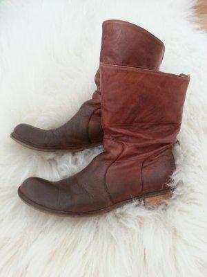 Blogger! Coole Boots aus Leder 38 Italien Lea Foscati Coachella Festival