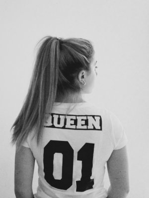 "Blogger Couple Shirt ""Queen 01"" Gr. S"