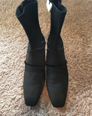 H&M Conscious Collection Slip-on Booties black