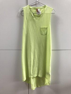 Blogger H&M Kleid Strandkleid Mini Gelb Neon Gr. 34 / XS - NEU und ungetragen mit Etikett!