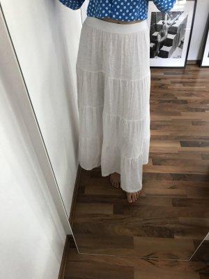 H&M Maxi Skirt white