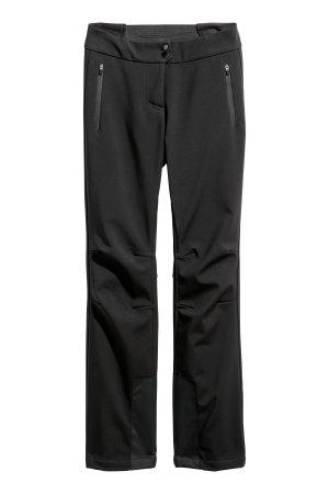 Blogger H&M Skihose Softshellhose Wasserabweisend Schwarz Gr. 36 / S - NEU und ungetragen!
