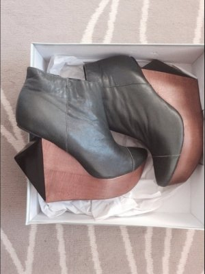 Blogger High Heels Leder Schuhe