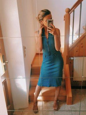 100% Fashion Abito denim blu