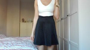 Blogger kleid festlich cut outs