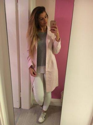 Blogger Mantel rosa lang Neu