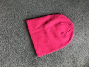 H&M Casquette rouge framboise