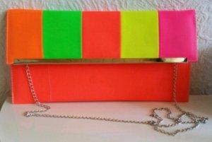 Bolso de mano multicolor