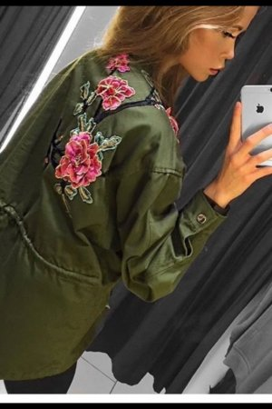 Blogger Parka Patches Jacke